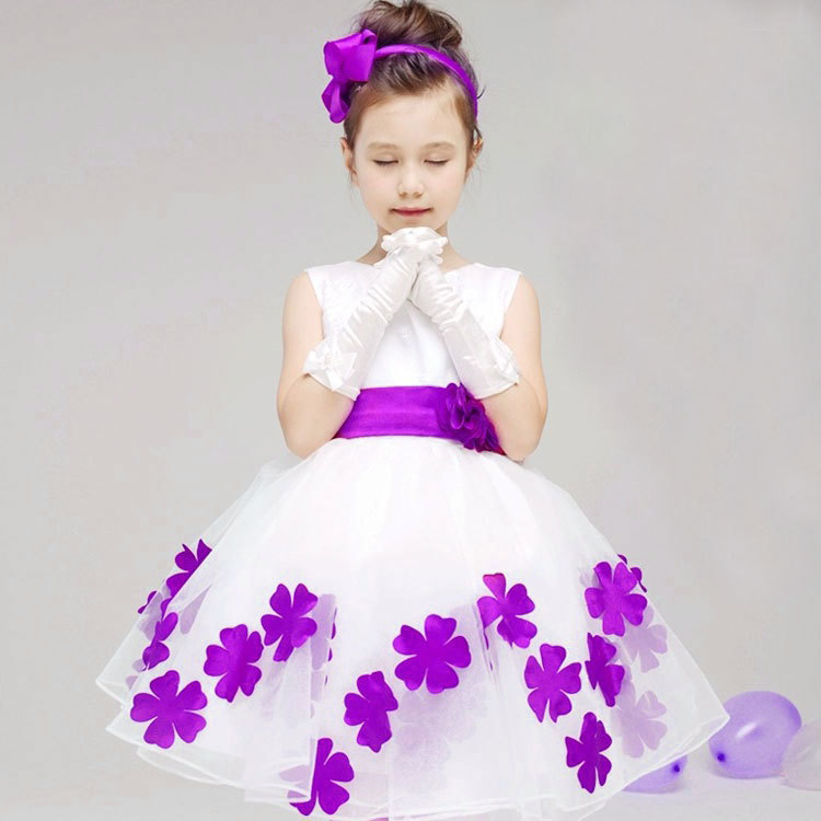 Flower Girl Dressflower Dresseschildren Party Dressgirl Dresskids Dresscheap Dresses On Luulla