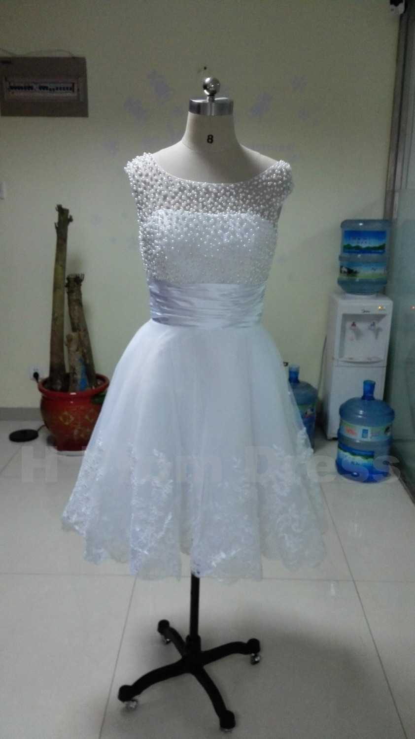 Wedding Dress Bride Dress White Bridal Dresses Ivory Wedding Dress ...
